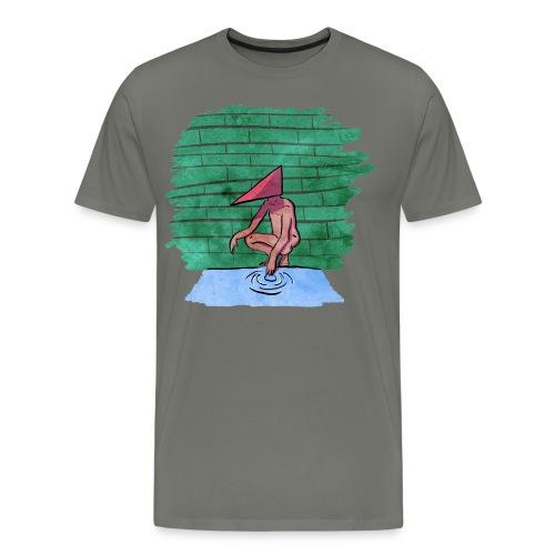Geo Head - Men's Premium T-Shirt