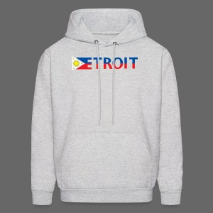 Detroit Philippines Flag - Men's Hoodie