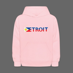 Detroit Philippines Flag - Kids' Hoodie