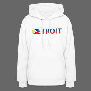 Detroit Philippines Flag - Women's Hoodie