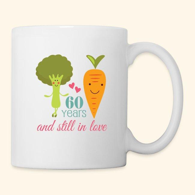60th Anniversary Gift Mug For Couples