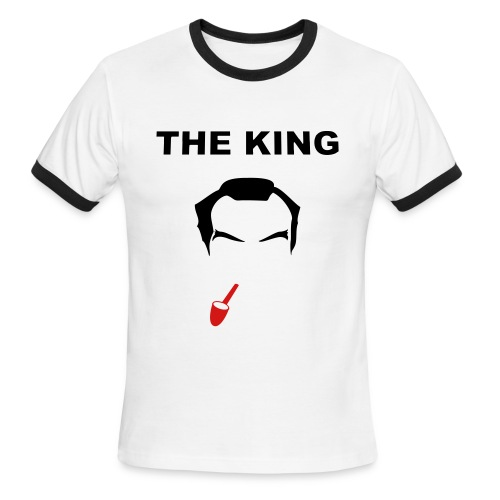 The King - Men's Ringer T-Shirt