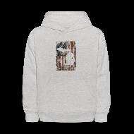 Sweatshirts ~ Kids' Hoodie ~ Michigan - USA Flag