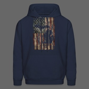 Michigan - USA Flag - Men's Hoodie