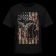 Kids' Shirts ~ Kids' T-Shirt ~ Michigan - USA Flag