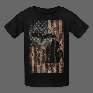 Michigan - USA Flag - Kids' T-Shirt