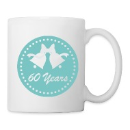 60th Wedding Anniversary Gift Mug  sc 1 st  Spreadshirt & Homewise Shopper | 60th Wedding Anniversary Gift Mug - CoffeeTea Mug