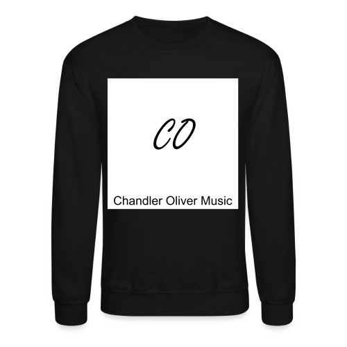 CO Signature Black Crew-neck Sweatshirt - Crewneck Sweatshirt