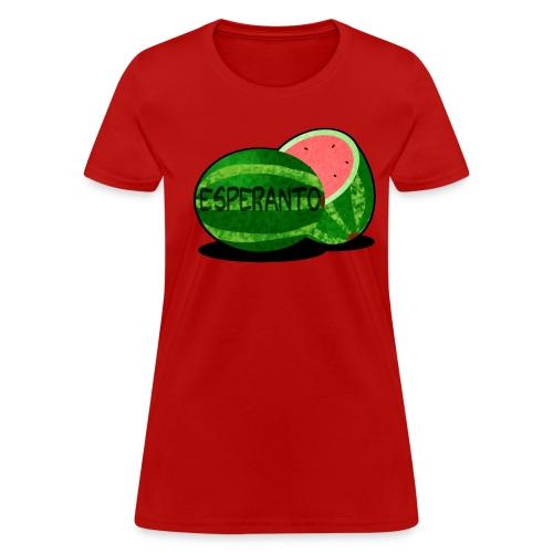 Esperantomelono (Feminine) - Women's T-Shirt