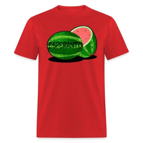 Esperantomelono (Masculine) - Men's T-Shirt