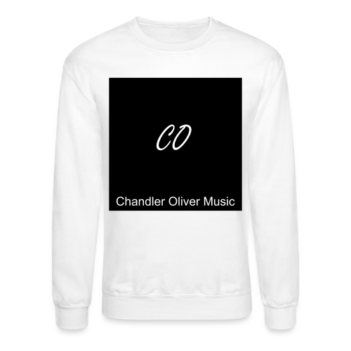 CO Signature White Crew-Neck Sweatshirt - Crewneck Sweatshirt