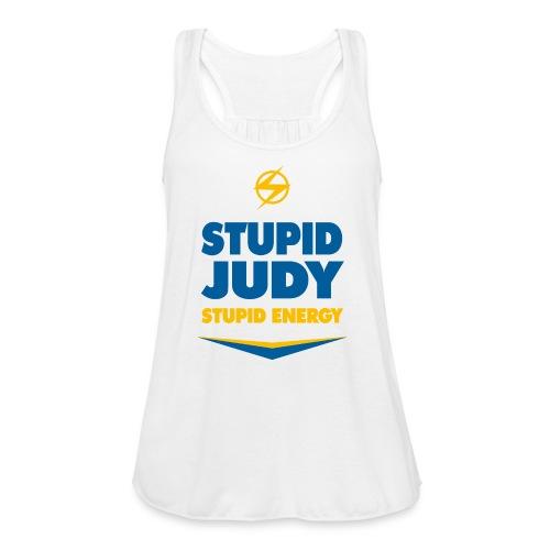 Women's Flowy Stupid Judy Tank - Women's Flowy Tank Top by Bella