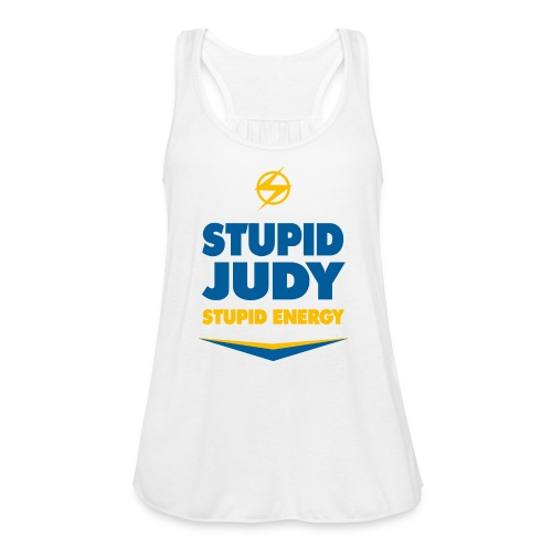 Women's Flowy Stupid Judy Tank - Women's Flowy Tank Top by Bella