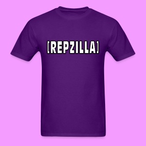 Repzilla Logo - Men's T-Shirt