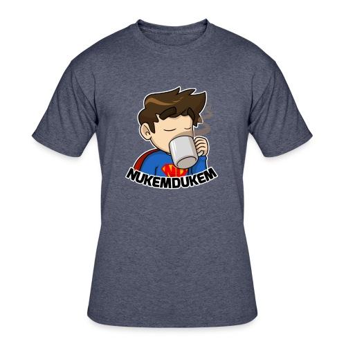 Men Logo - Men's 50/50 T-Shirt