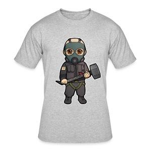 Men Sledge - Men's 50/50 T-Shirt