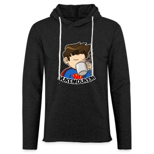 Unisex lightweight hoodie - Unisex Lightweight Terry Hoodie