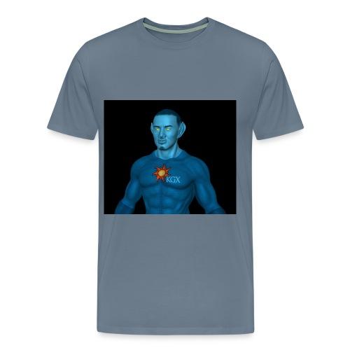 ©The L.A.Z.E.R.U.S./K.G.X.perience LOGO ACTIVE Wear SHIRT - Men's Premium T-Shirt