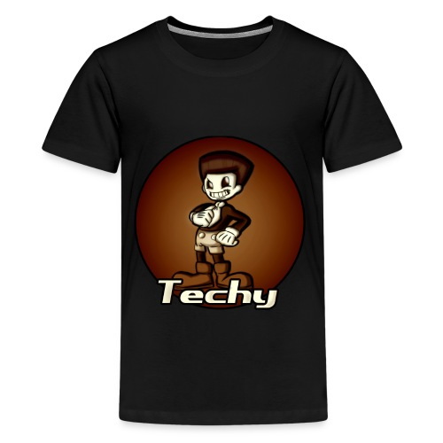 Techy Kid's T-shirt - Kids' Premium T-Shirt