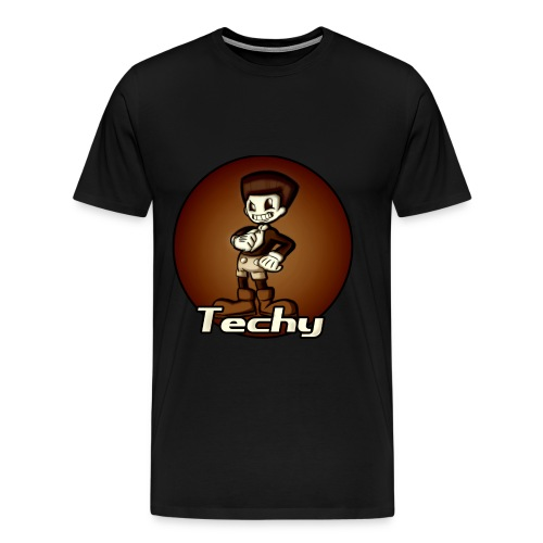Techy Male's T-shirt - Men's Premium T-Shirt