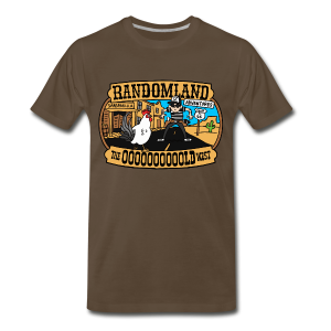 OLD WEST PLUS / Premium sizes - Men's Premium T-Shirt