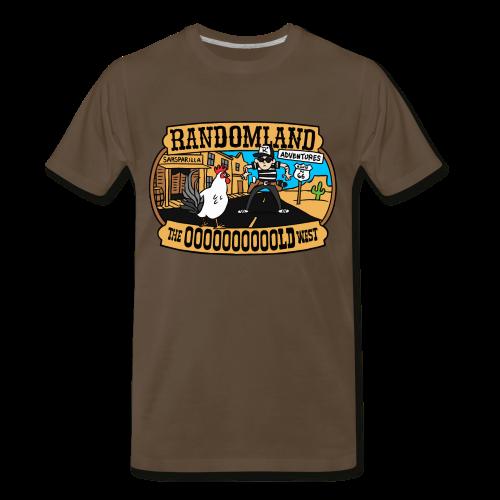 OLD WEST PLUS / Premium sizes - Men's Premium T-Shirt
