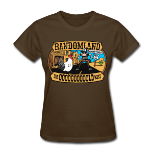 OLD WEST ladies-cut - Women's T-Shirt