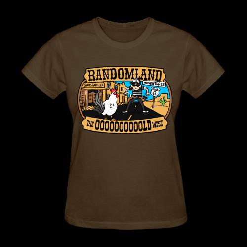 OLD WEST ladies-cut - Women's T-Shirt