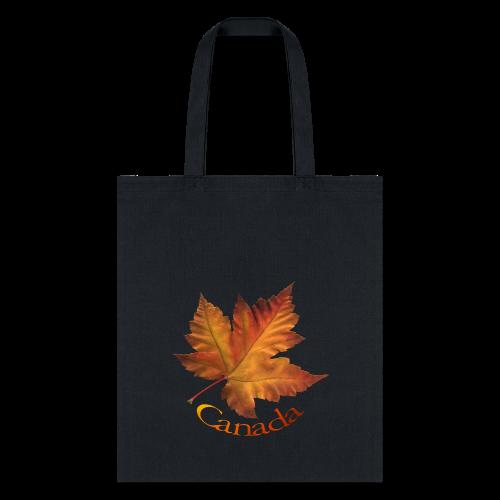 Canada Tote Bags Autumn Maple Leaf Canada Bags - Tote Bag