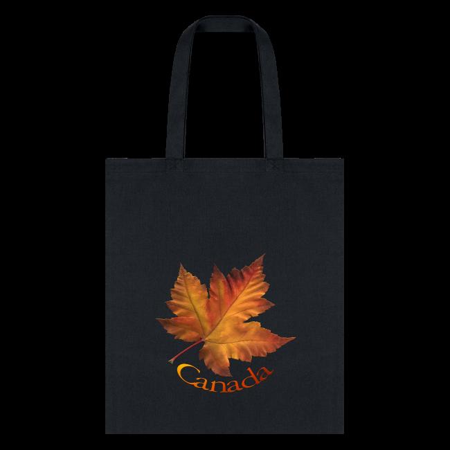 Canada Tote Bags Autumn Maple Leaf Canada Bags