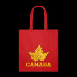 Canada Tote Bags Varsity Canada Souvenir Bags - Tote Bag