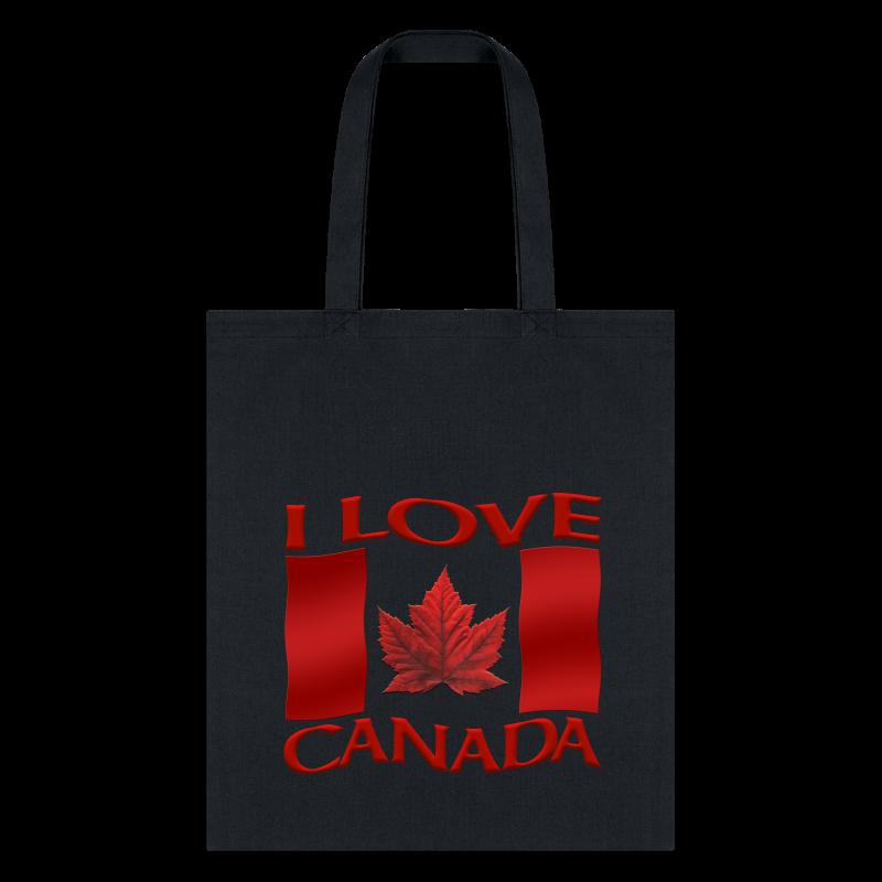 I Love Canada Tote Bags Canada Souvenir Bags - Tote Bag