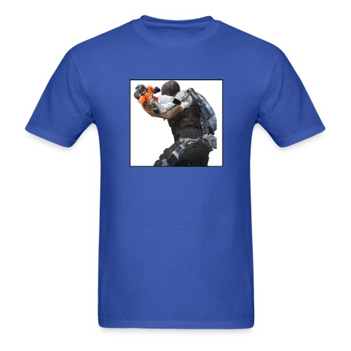 What Gun are we using?! Shawn Moreno - Men's T-Shirt