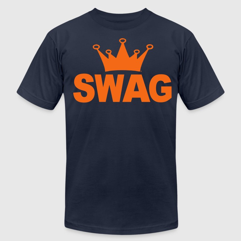 Swag of Crown T-Shirts - Men's T-Shirt by American Apparel