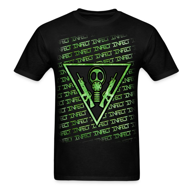 INFECT GREEN MATRIX SHIRT - Men's T-Shirt