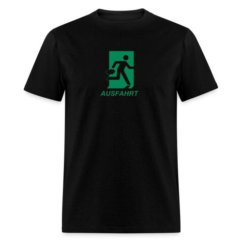 Ausfahrt Shirt - Green (Standard Weight) - Men's T-Shirt