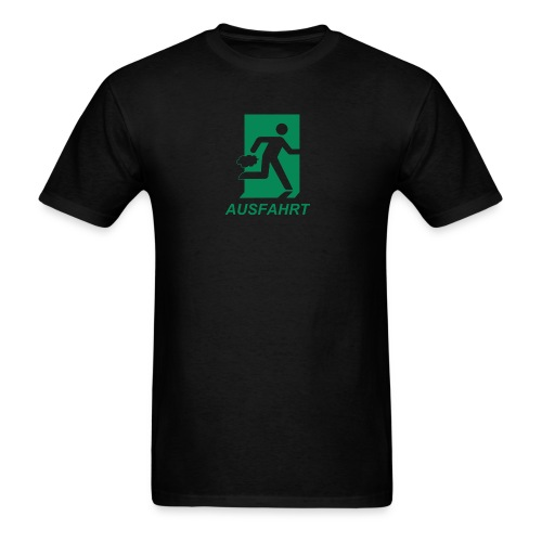 Ausfahrt Shirt - Green (Standard Weight) - Men's T-Shirt