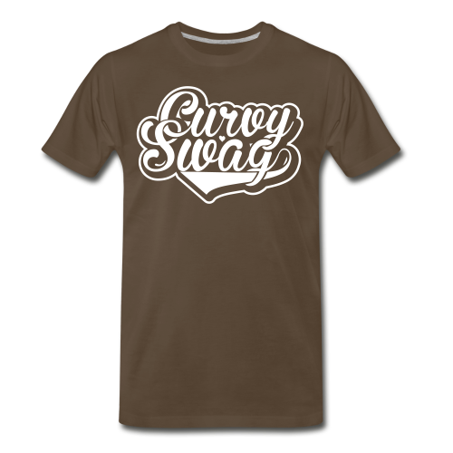 Curvy Girl Swag Shirt (3xl-4xl)  (Version 2 - Reverse) - Men's Premium T-Shirt