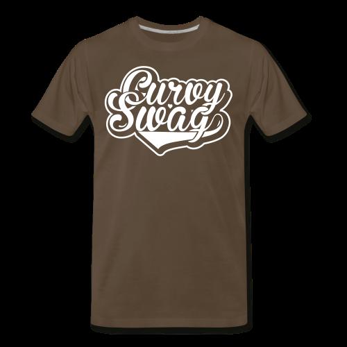 Curvy Girl Swag Shirt (3xl-4xl)  (Version 2 - Reverse) - Men's Premium T-Shirt