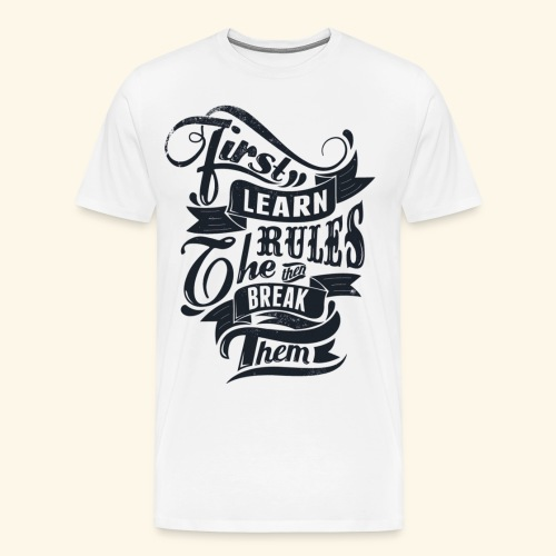 life awesome graphics - Men's Premium T-Shirt