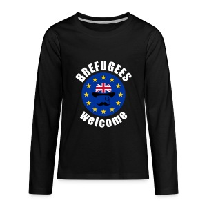 Brefugees Welcome - Kids' Premium Long Sleeve T-Shirt