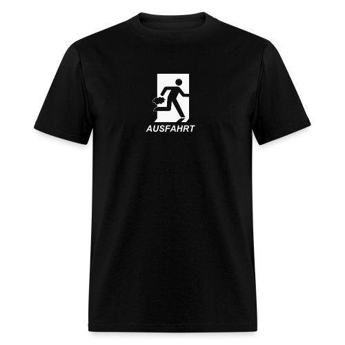 Ausfahrt Shirt - White (Standard Weight) - Men's T-Shirt