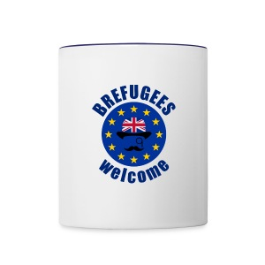 Brefugees Welcome - Contrast Coffee Mug