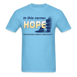 In this corner, HOPE  - Men's T-Shirt
