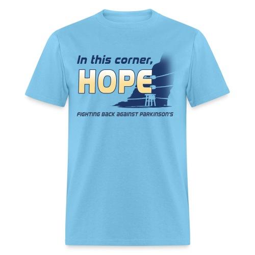 In this corner, HOPE  - Men's T-Shirt