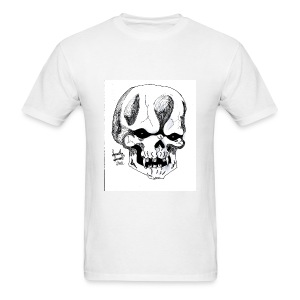 Skull by @dankraven420 - Men's T-Shirt