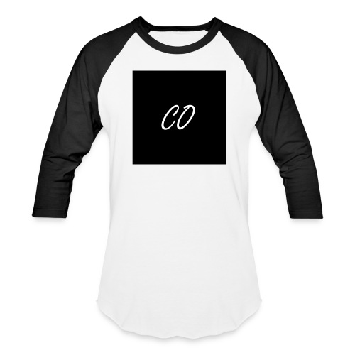CO Signature Black and White T-shirt - Baseball T-Shirt