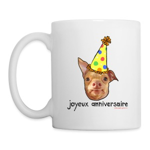 Happy Birthday in French - Coffee/Tea Mug