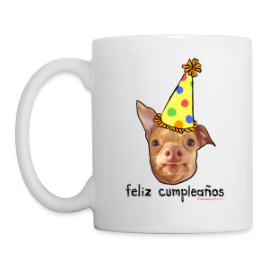 Happy Birthday in Spanish - Coffee/Tea Mug