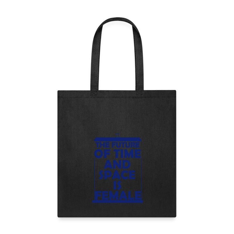 tardis_female_blue - Tote Bag